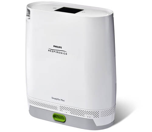 simply go mini philips respironics-portable oxygen concentrator